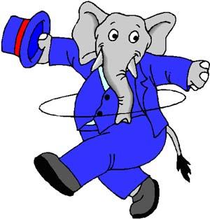 gajah hepi